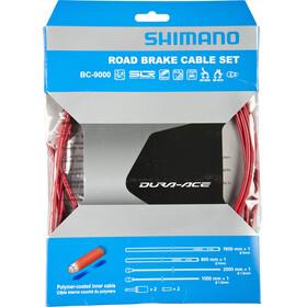 Shimano Dura-Ace BC-9000 Rem binnenkabel- & Behuizing polymeer rood
